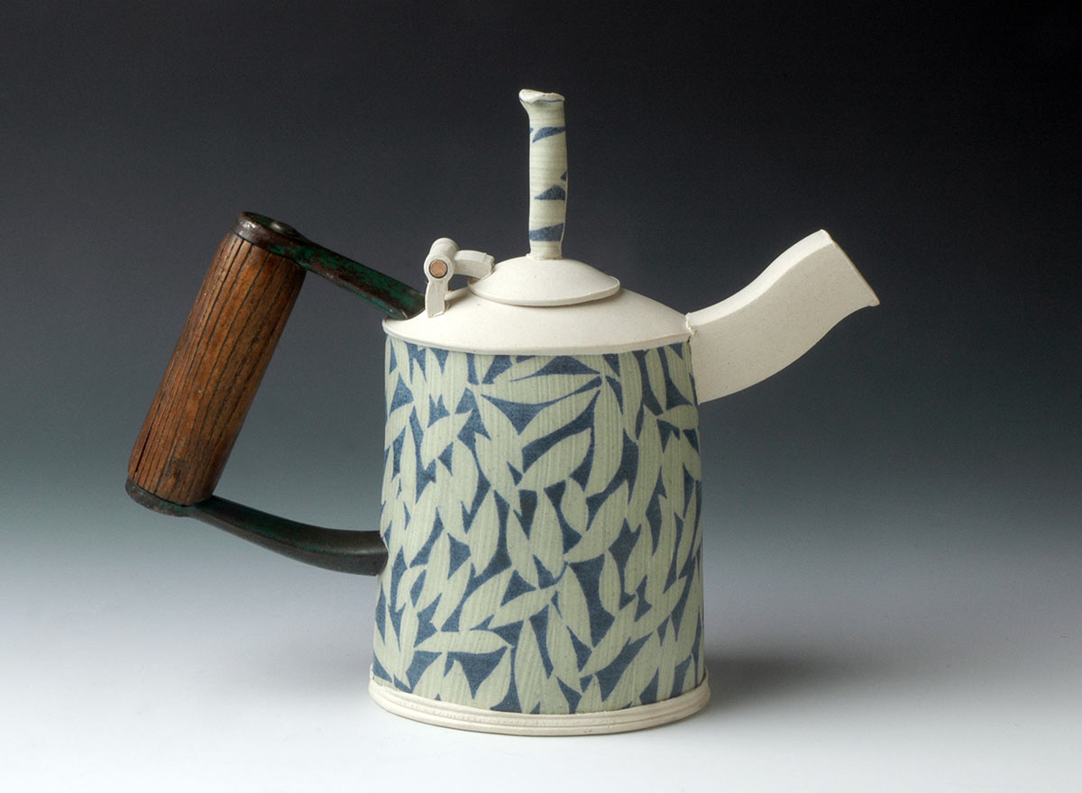 Teapot with Shovel Handle