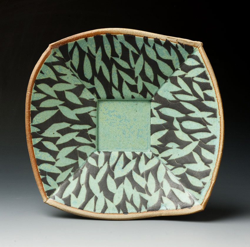 Bowl with Leaf Pattern
